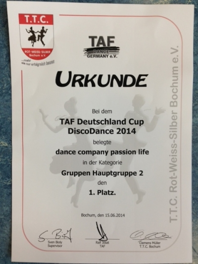 Urkunde_Discodance_2014